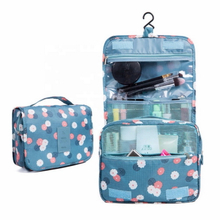"Foldable Hanging Travel Waterproof Wash Toiletry Bag Pouch - 6 "" x 8.3 "" x 2.7 """