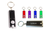 Logoed Rectangular LED Keychain Keyring Key Holder