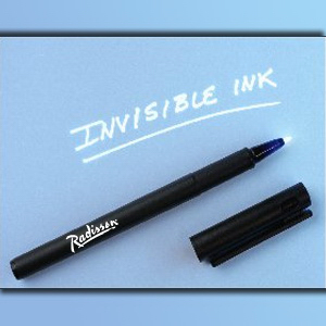 Fine Tip Invisible Ink Pen