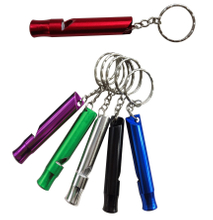 Custom Metal Whistle Key Ring Keychain
