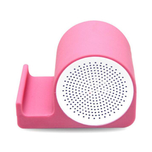 Personalized Silicone Wireless Speaker and Phone Stand