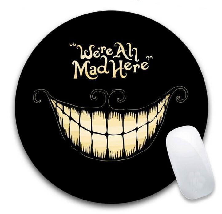 "Custom 10"" Inch Full Color Imprint Round Mouse Pads"