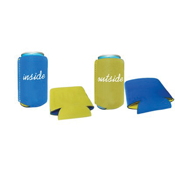 Custom Full Color Logo Reversible Can Bottle Sleeve Cooler Holder