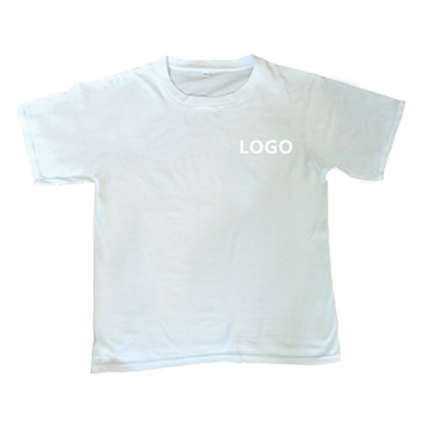 Promotional T Shirt Crew Neck Short Sleeves T-Shirt