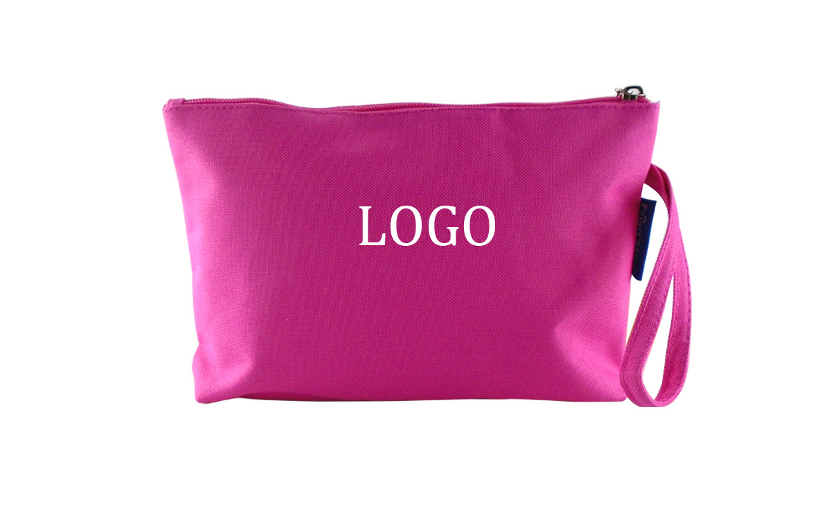 "Custom Logo Travel Cosmetic Wash Bag - 9.8 "" x 7.1 """