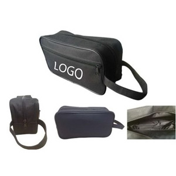Imprint Hanging Cosmetic Travel Bag