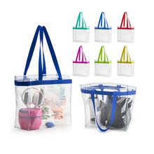 Clear PVC Stadium Tote Bag