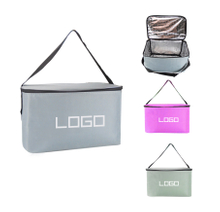 Promotional Logoed Custom Picnic Lunch Cooler Tote Bag