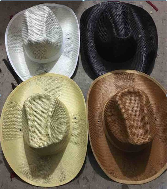 Imprinted Straw Cowboy Hat