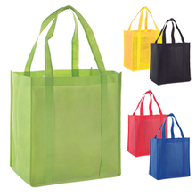 Printed Non-woven Tote Bag With Bottom Panel