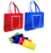 Imprinted Collapsible Tote Shopping Bag