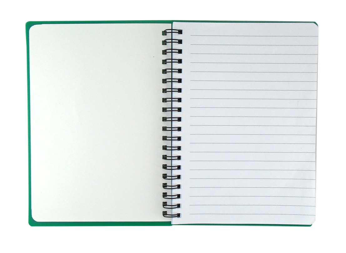 "Custom Promotional Spiral Notebook 5""x7"""